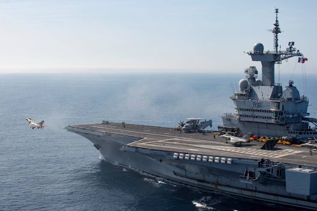 French carrier Inherent Resolve
