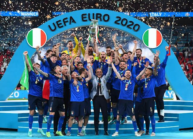 Italia berhasil menjadi juara Euro 2020