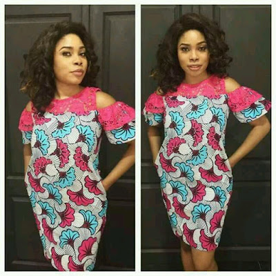 Fashion And Styles 2018 : Simple Ankara Gown Ideas For Cute Ladies