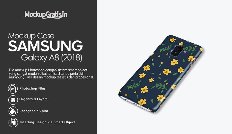Mockup Custom Case SAMSUNG Galaxy A8 (2018)