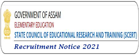 SCERT Assam Admit Card Download 2021