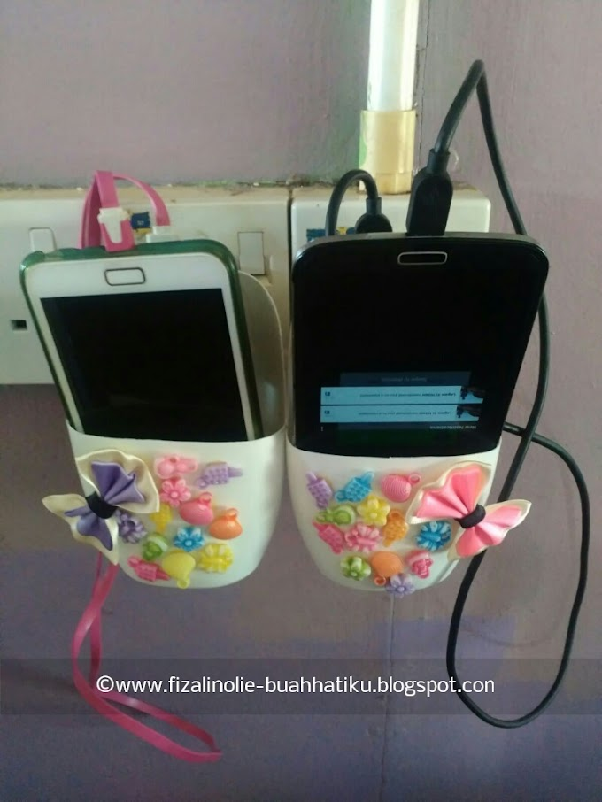 DIY Tempat Letak Handphone