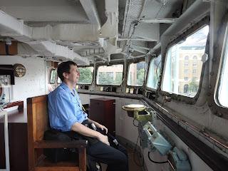 לו הייתי פיראט... מדמיין את עצמי בעמדת הפיקוד מול חופי נורמנדי