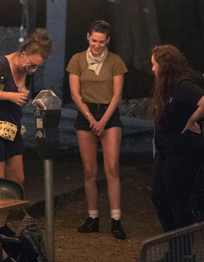 Kristen Stewart, Dylan Meyer Night Out in Los Angeles 23 Aug -2020