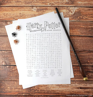 Harry Potter Activity Sheets,