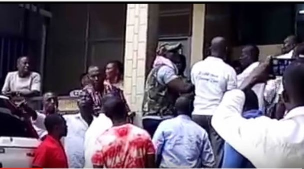 Video: Blows again as five rounds of voting in KMA election ends in deadlock