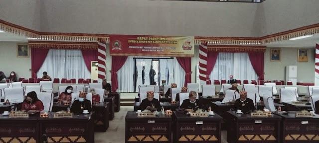 HUT Provinsi ke-57, DPRD Lampung Selatan Gelar Rapat Paripurna Istimewa Dengarkan Pidato Gubernur