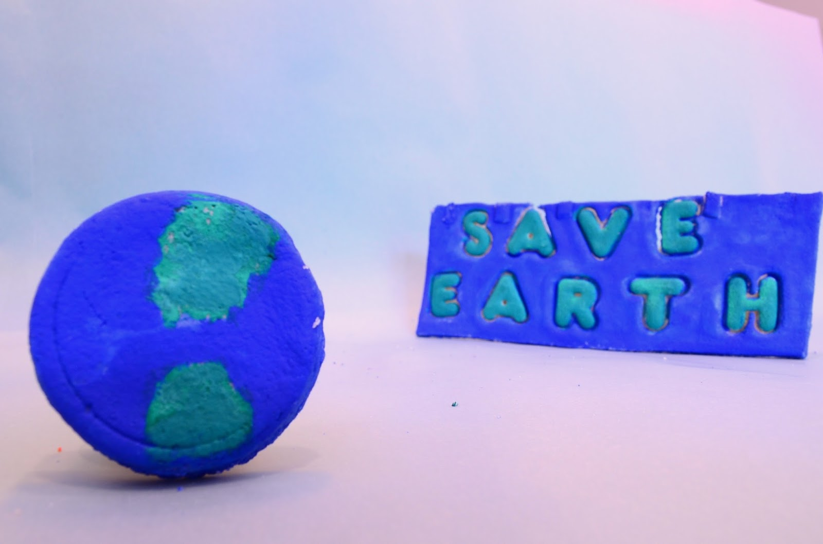 The Practical Mom: SALT DOUGH MAGNETS- EARTH DAY