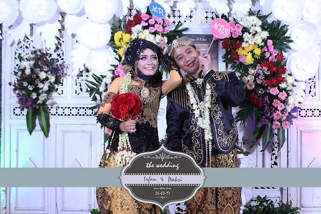 +0856-4020-3369 ; Jasa Photobooth Semarang ~Wedding Irfan & Paksi~