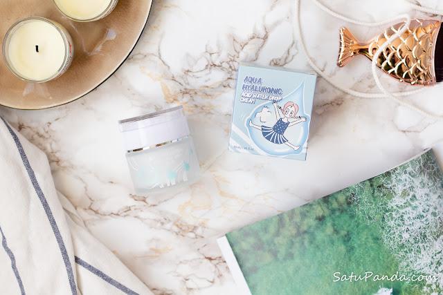 Elizavecca Aqua Hyaluronic Acid Water Drop Cream увлажняющий крем для нормальной и комбинированной кожи