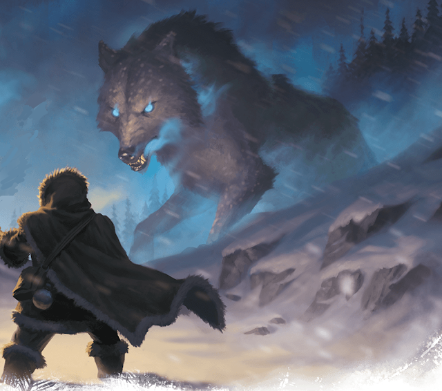 Erling and the winter wolf