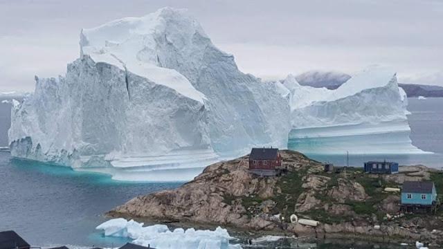 22 γιγατόνοι πάγου έλιωσαν σε μια ημέρα στην Γριλανδία
