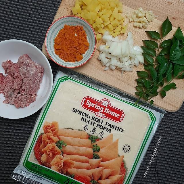 Resepi samosa daging
