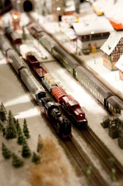 Expozitia de trenulete din Gara Sinaia, Noaptea Muzeelor
