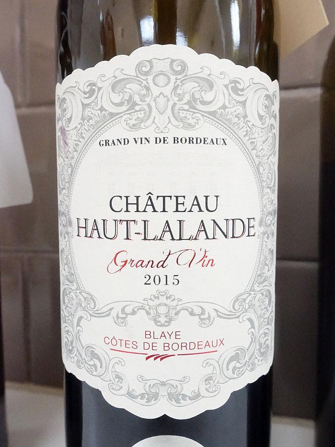 Château Haut-Lalande 2015 (89 pts)