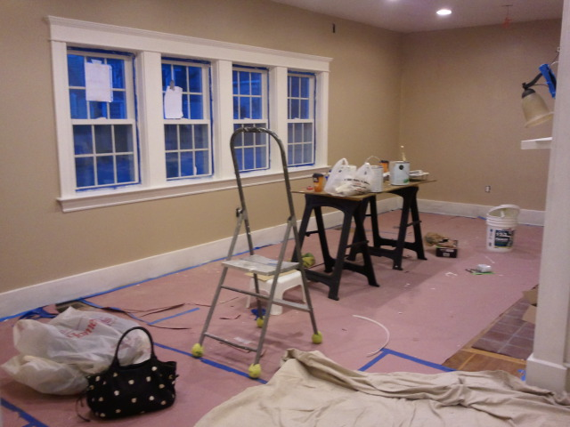 Marblehead House Restoration Project November 2012