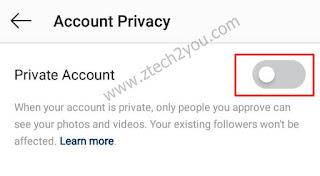 كيفية-جعل-حساب-الانستقرام-instagram-خاص-بعد-التحديث-الجديد