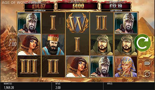 Main Gratis Slot Indonesia - Wonder of Ages (Blueprint Gaming)