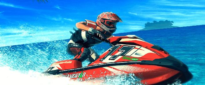 تحميل لعبة سباق الموتوسيكلات المائية aqua moto racing utopia مجانا للكمبيوتر