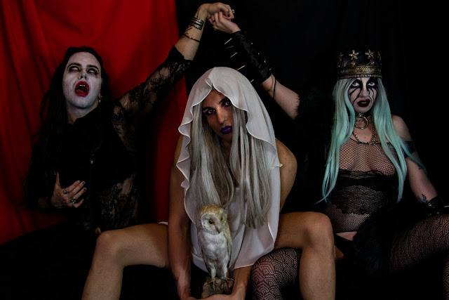 Peosphoros - Pink Metal 1st All-Trans Extreme Metal Band against Black Metal. PunkMetalRap.com