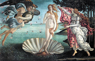 The Botticelli masterpiece The Birth of Venus is thought to have been inspired by Simonetta Vespucci