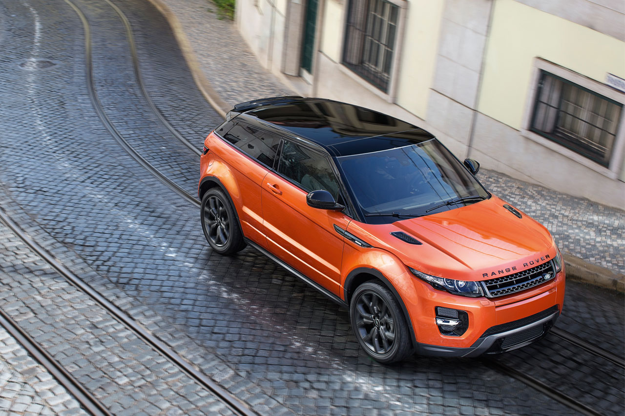 Range Rover Evoque Autobiography Dynamic top