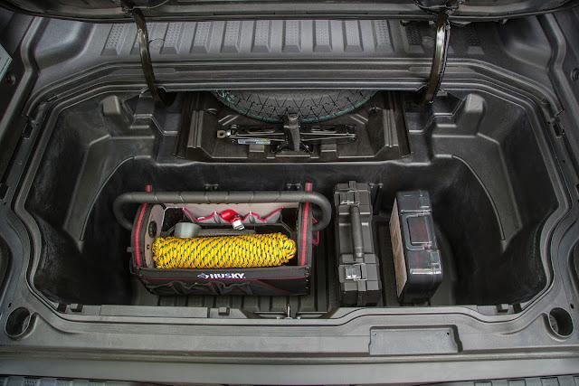 Trunk in 2017 Honda Ridgeline