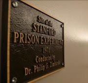 صورة لوحة دلالية لتجربة سجن جامعة ستانفورد الشهيرة