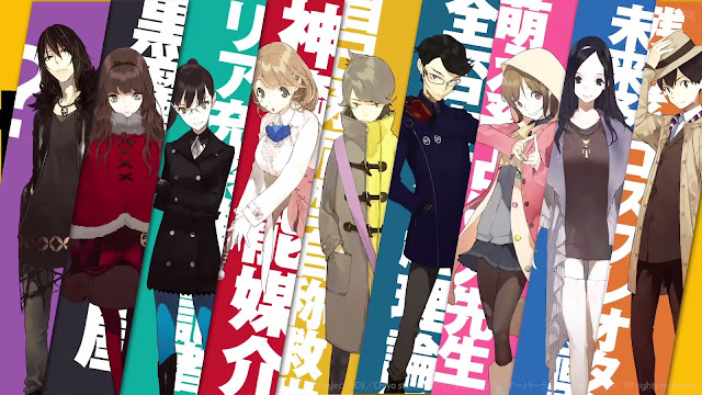 Bohaterowie anime Occultic;Nine