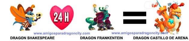 imagen del cruce del dragon castillo de arena de dragon city