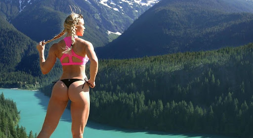 Lauren Drain Bikini Fitness Model