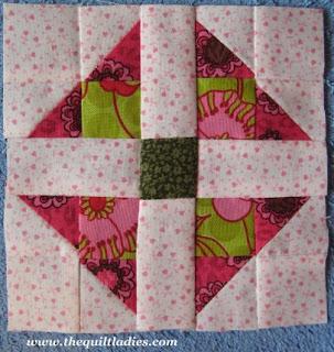 Quilt Ladies 52 Weeks of Quilt Pattern Blocks, Week 36