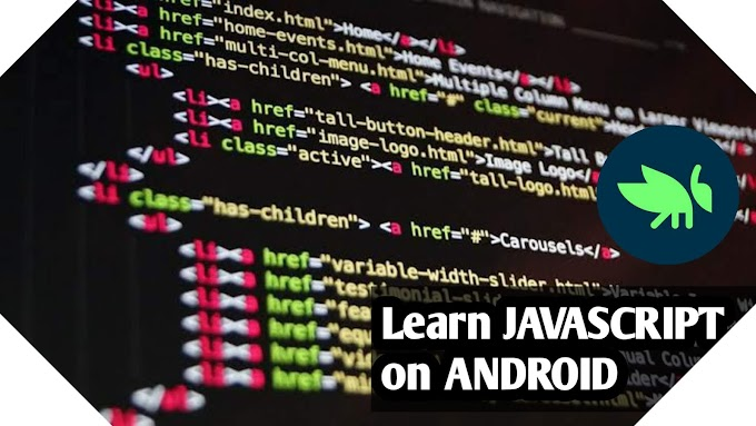 How to Learn Javascript On Android???