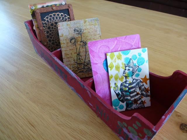Lesleys distress box