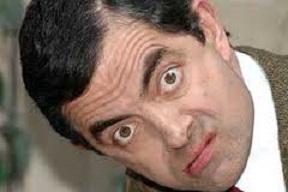 Foto Mr Bean Lucu: Lagi Ngintip