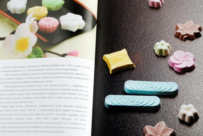 Przykładowe japońskie słodycze