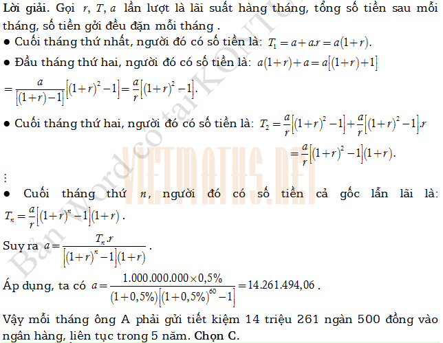 trac nghiem ham so logarit cua thay Huynh Duc Khanh part 2