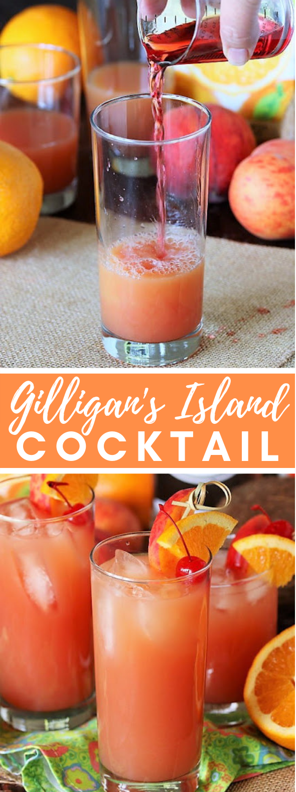 GILLIGAN'S ISLAND COCKTAIL #drinks #tropicalcocktail