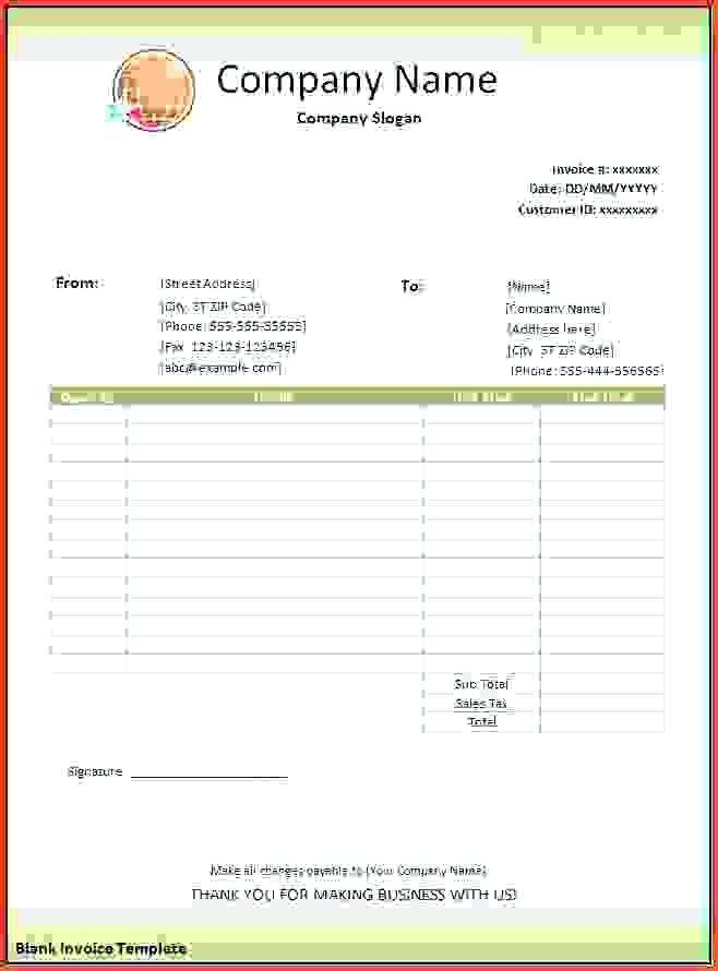 It is an image of Intrepid Printable Invoices Free