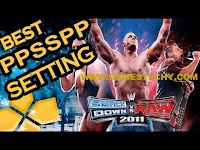 WWE Smackdown Vs Raw 2011 Best PPSSPP Settings