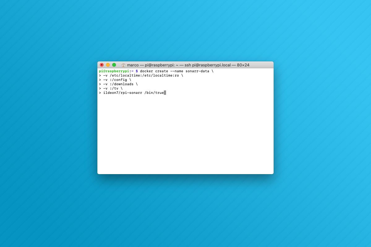 Come installare Sonarr con Docker