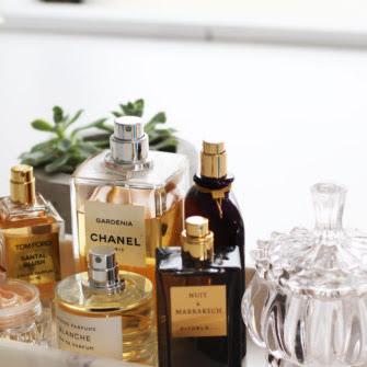 Perfumes no sol