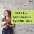 NATA Exam MATHS Syllabus  (NEW) | NATA 2020 Syllabus (Updated)