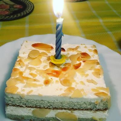 tarta de cumpleaños,