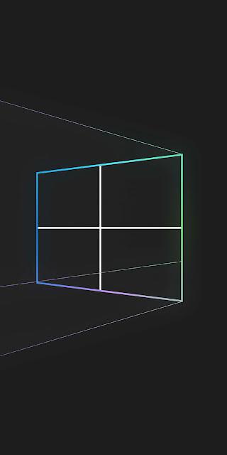 HD Windows 10 Dark Minimal