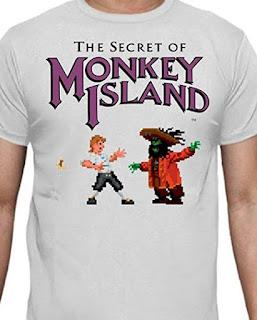 Camiseta The Secret of Monkey Island