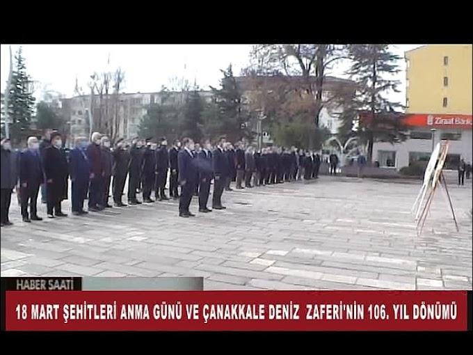 18 Mart Şehitleri Anma Günü ve Çanakkale Deniz Zaferi'nin