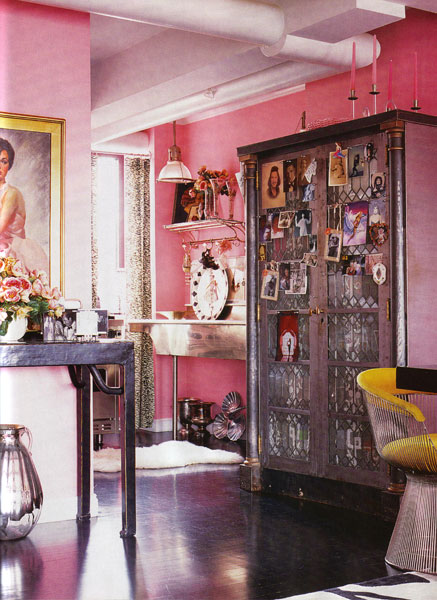 {pretty in pink: betsey johnson}