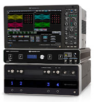 Shown is one possible configuration of a Teledyne LeCroy optical modulation analyzer