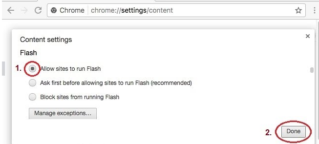Enable Flash Player
